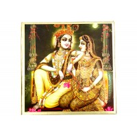 RADHAI KRISHNA WEDDING CARD