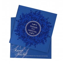 Beautiful darkblue card