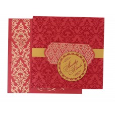 Royal Red shading with gold card
