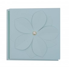 Beautiful  floral blue card