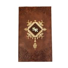 Classic Brown Designer Card