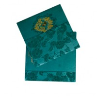 Floral Green Designer Theme Card