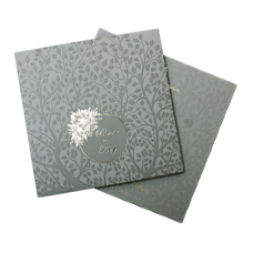 Light Green Floral Theme  cards