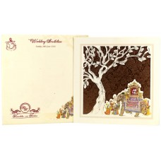 Traditional  Theme Laser Cut Card