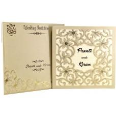 Floral Designer Theme Wedding  Card
