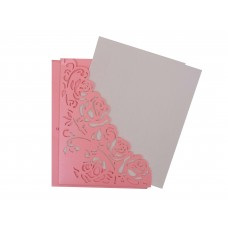 Silver & Pink card